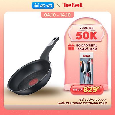 Chảo chiên 26cm Tefal Unlimited G2550502 - Chống dính, báo nhiệt thông minh - Hàng chính hãng