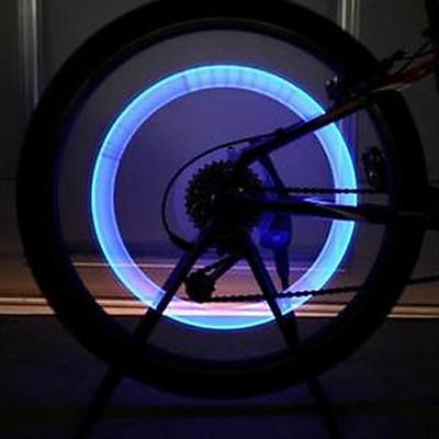 Bộ 2 đèn led gắn van bánh xe đạp, xe máy