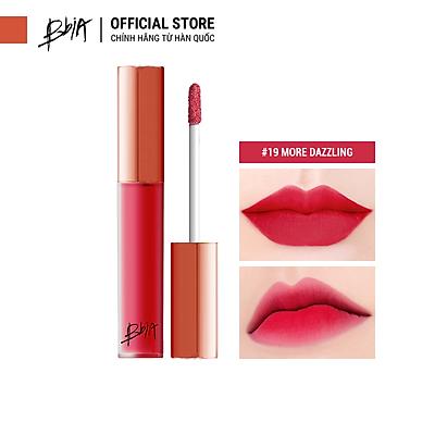 Son kem lì Bbia Last Velvet Lip Tint - 19 More Dazzling 5g (Màu đỏ ánh hồng cánh sen)