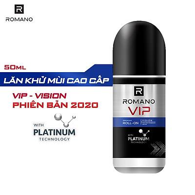 Lăn khử mùi cao cấp Romano Vip Vision sang trọng cuốn hút 50ml