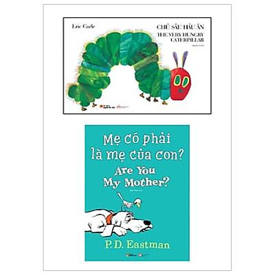 Combo Chú Sâu Háu Ăn - The Very Hungry Caterpillar - Mẹ Có Phải Là Mẹ Của Con? Are You My Mother? (Bộ 2 cuốn)