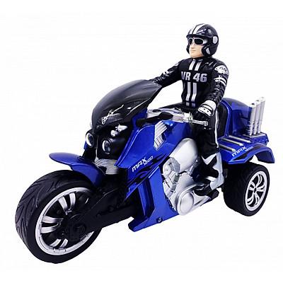 Đồ Chơi Vecto Xe Moto 3 Bánh Điều Khiển Từ Xa Max Trike (Xanh Dương)  YD89857/BLU