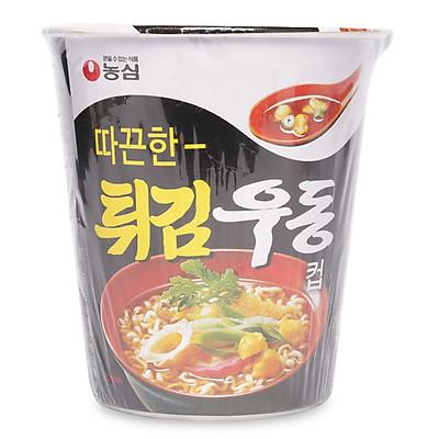 Mì Ly Udon Gia Vị Chiên Nongshim Hàn Quốc 62g
