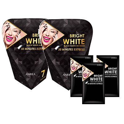 Miếng Dán Trắng Răng ANRIEA Bright White - Liệu Trình 14 Ngày Tặng 3 Miếng Dán Lẻ