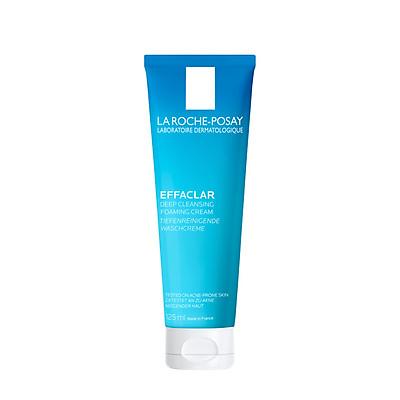 Sữa rửa mặt tạo bọt sạch sâu La Roche-Posay Effaclar Deep Cleansing Foaming Cream 125ml