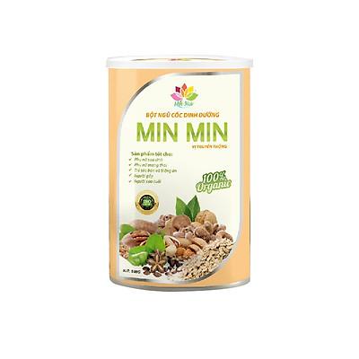 Bột Ngũ Cốc Lợi Sữa Min Min 500G Mẫu Mới 29 Loại Hạt Cao Cấp - Ngũ Cốc Dinh Dưỡng Và  01 Túi Muối NGâm Chân Sinh 100g Dược Giúp Ngủ Ngon