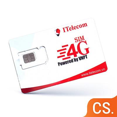 SIM 4G I-Telecom gói cước MAY tặng 90GB DATA, miễn phí nghe gọi, miễn phí SMS