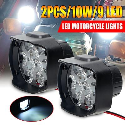 1PCS 1000LM Super bright 5700~6200K 6 Led Motorcycle Headlight bulb work Head Light Fog Driving Spot lamp Night Headlamp accessories for haulage Motor & Bike & Car & ORV