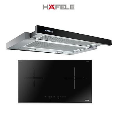 [PROMO] Máy Hút Mùi Âm Tủ HH-TG90E (90cm) + Bếp Từ 2 Vùng Nấu Hafele 770x450mm HC-IS772EA ( Hàng chính hãng )