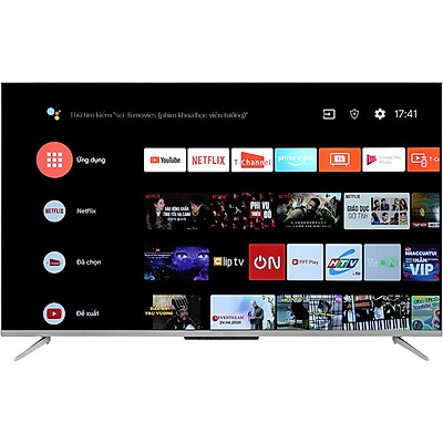 Android Tivi TCL 4K 55 inch 55P715