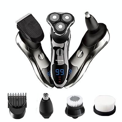 Bộ sản phẩm máy cạo râu cao cấp RUNWE RS966, máy cạo râu đa năng 4 trong 1 chống nước cao cấp, máy cạo râu chính hãng