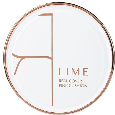 Phấn Nước Kiềm Dầu Lime Real Cover Pink Cushion SPF50+ PA+++ Tone 25