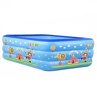 Bể bơi phao trong nhà hình chữ nhật đủ kích thước 150cm-135cm-180cm-210cm, bể bơi cho bé, bể bơi chất lượng tốt