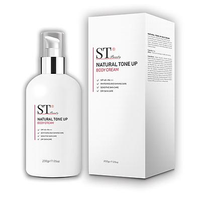Kem Dưỡng Body ST Beauty Làm Trắng & Bật Tông Da Tự Nhiên 200g – Natural Tone Up Body Cream