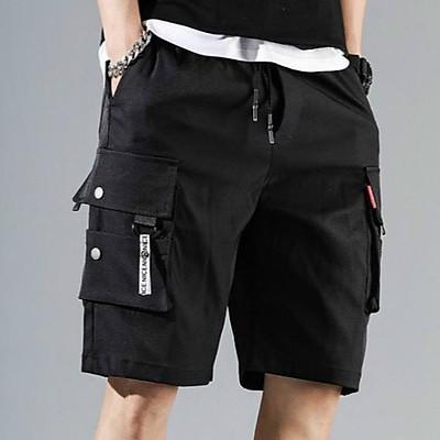 <FREE SHIP> Quần short túi hộp unisex vải kaki co giãn (d.n.l.k.e)