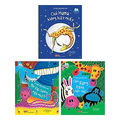 Cuốn sách giúp bé tìm hiểu về thế giới động vật:  Combo 3 Quyển Vũ Điệu Của Muôn Loài