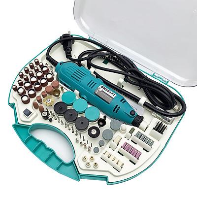 Máy khoan mài cắt cầm tay mini - Bộ máy khoan mài hơn 100 chi tiết đa năng