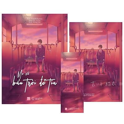 Mơ Về Bầu Trời Đỏ Tía [Tặng tặng: 1 postcard có chữ kí tác giả (10 x 15 cm) + 1 bookmark]