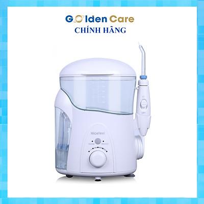 Máy tăm nước gia đình Nicefeel FC288 chính hãng, có hộp đựng đầu phun bên hông máy có tia UV hoặc không có tia UV, có chức năng massage, áp lực nước 30~125 PSI