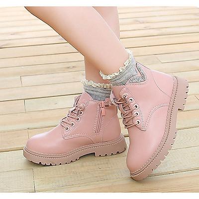 Giày bốt cho bé gái Phong Cách Hàn Quốc TTV35