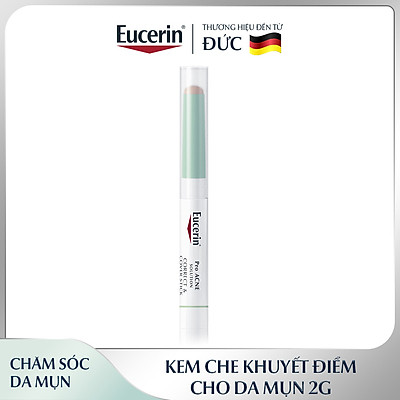Kem Che Khuyết Điểm Cho Da Mụn Eucerin Pro Acne Solution Correct & Cover Stick 2gr