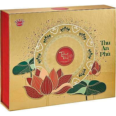 Bánh Trung Thu Kinh Đô - Trăng Vàng Hồng Ngọc An Phú Vàng: 4 Bánh 160gr