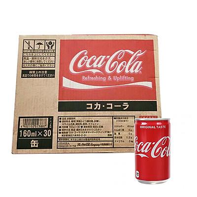 1 Thùng 30 Lon Coca Cola Phiên Bản Lon Mini 160ml - Hàng nội địa Nhật