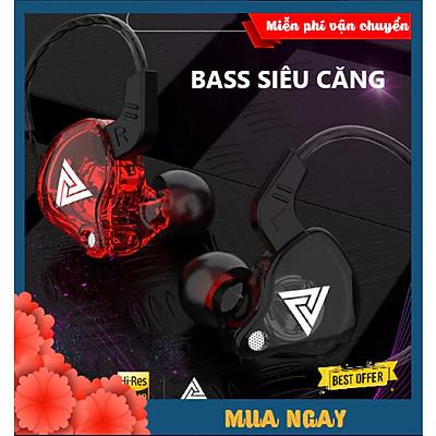 Tai Nghe Chống Ồn XSmart QKZ AK6 PRO Bass Siêu Khủng, Âm Thanh Cực Đỉnh, Giải Trí Chơi Game Siêu Thích - Hàng Chính Hãng
