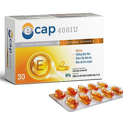 Thực Phẩm Bảo Vệ Sức Khỏe ECAP (30 Viên/Hộp)