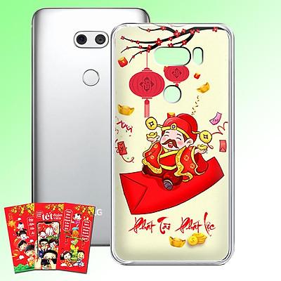 Ốp lưng điện thoại LG V30 - 01253 7956 HPNY2020 10 - Tặng bao lì xì Mừng Xuân Canh Tý - Silicon dẻo - Hàng Chính Hãng