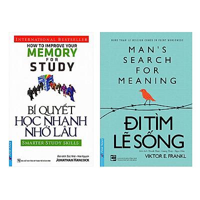 Combo Bí Quyết Học Nhanh Nhớ Lâu (Tái Bản) + Đi Tìm Lẽ Sống (2 cuốn)