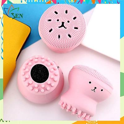 Bộ dụng cụ massage tạo bọt rửa mặt siêu sạch, ngăn ngừa mụn