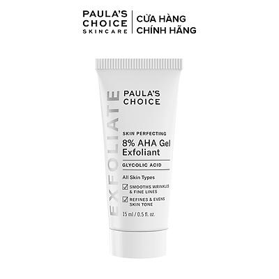 Gel loại bỏ tế bào chết Paula's Choice Skin Perfecting 8% AHA Gel Exfoliant 15ml Mã: 1907