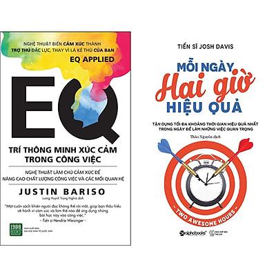 Combo 2 Cuốn Sách:  Mỗi Ngày Hai Giờ Hiệu Quả + EQ Trí Thông Minh Xúc Cảm Trong Công Việc