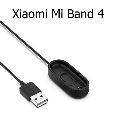 Dây Cáp Sạc Thay Thế Cho Vòng Đeo Tay Thông Minh Xiaomi Mi Band 4 Dài 1 Mét