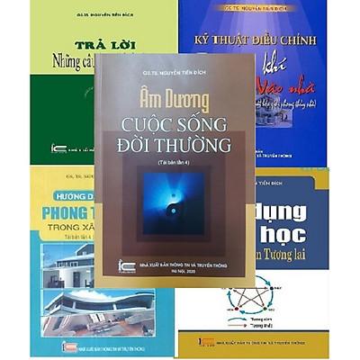 Combo 5 cuốn sách phong thủy học của tác giả GS - TS Nguyễn Tiến Đích - Bộ 5 cuốn