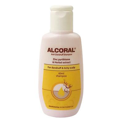 Dầu gội hỗ trợ trị gàu ALCORAL 60ml