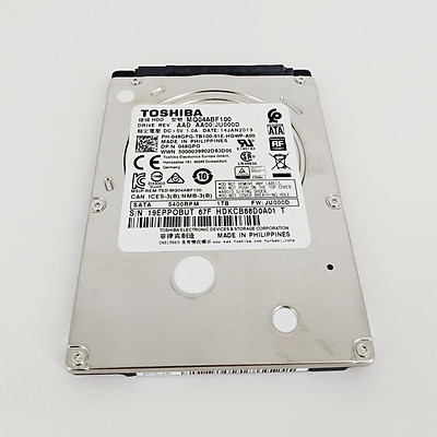 """HDD Toshiba 1TB  / 1000GB 5400rpm Sata 7mm 2.5 """" - Hàng Chính Hãng"""