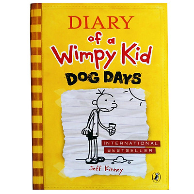 Truyện thiếu nhi tiếng Anh - Diary Of A Wimpy Kid 04 : Dog Days (Paperback)