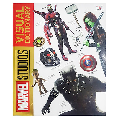 Marvel The Visual Dictionary
