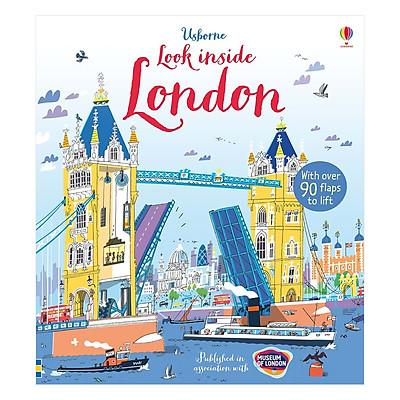 Sách tương tác tiếng Anh - Usborne Look inside London