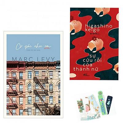 Combo 2 cuốn: Cô Gái Như Em + Sự Cứu Rỗi Của Thánh Nữ - Tặng Kèm Bookmark PĐ
