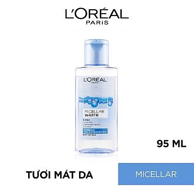 Nước Tẩy Trang Tươi Mát L'Oreal Paris 3-in-1 Micellar Water (95ml)
