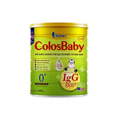 Sữa non COLOSBABY GOLD 0+ (800G)