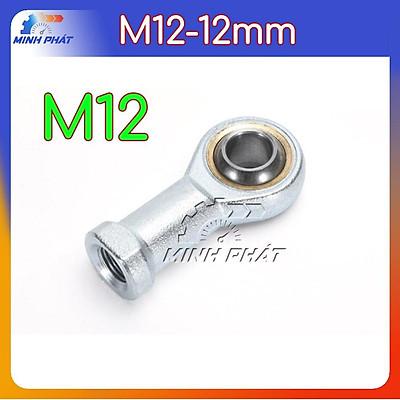 Vòng ổ bi khớp cầu nối trục đảo mắt trâu M12 12mm SI 12 T/K