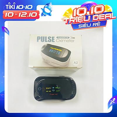 Máy đo Sp02, đo nồng độ Oxy trong máu (SPO2) và nhịp tim kẹp ngón tay kỹ thuật số màn hình LED