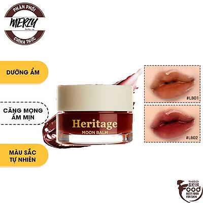 Son Dưỡng Có Màu Dưỡng Ẩm Môi Hiệu Quả Merzy The Heritage All Day Lip Care 4g