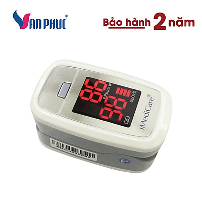 Máy đo nồng độ oxy trong máu và nhịp tim iMediCare iOM-A3 (NEW)