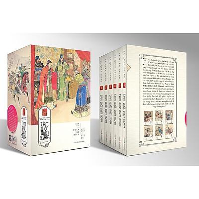 Combo Tam Quốc Diễn Nghĩa (Trọn Bộ 6 Tập)Tặng kèm Bookmath Kẽm