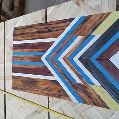 Trang trí tranh gỗ ghép đẹp